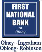 First National Bank in Olney